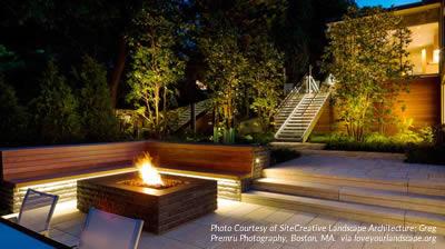 5 Невероятных преимуществ ландшафтного освещения и садового освещения