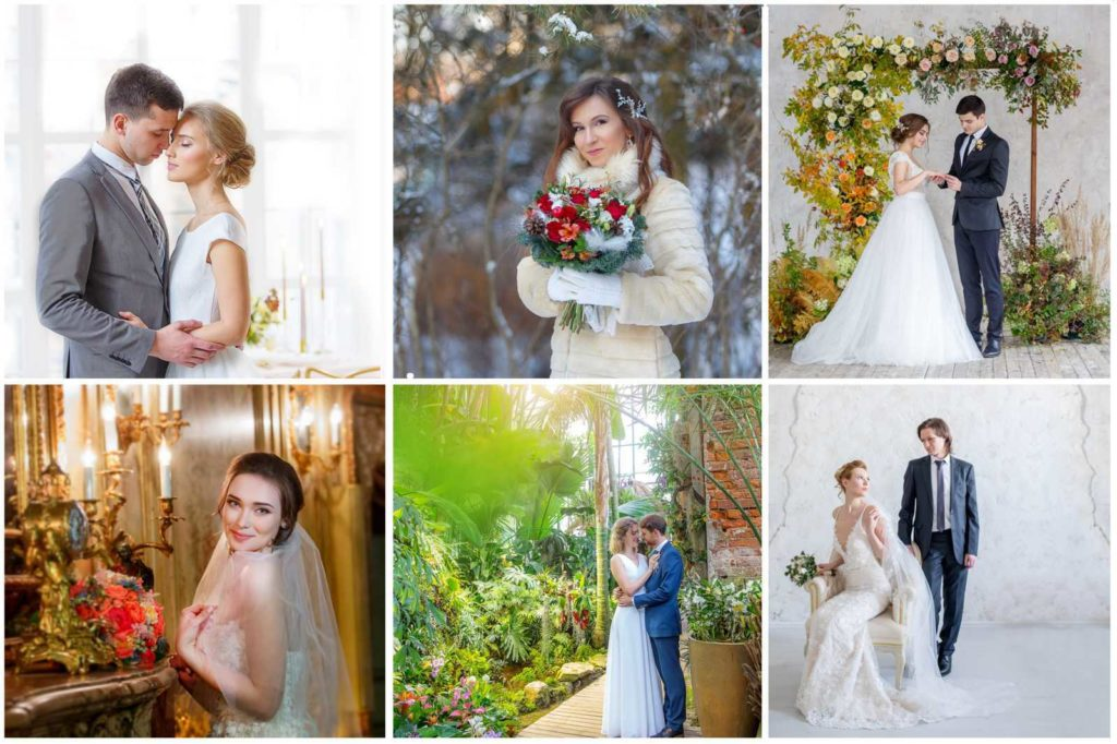Потрясающие преимущества зимней свадьбы